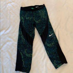 Nike Pro mesh inset Leggings, Small